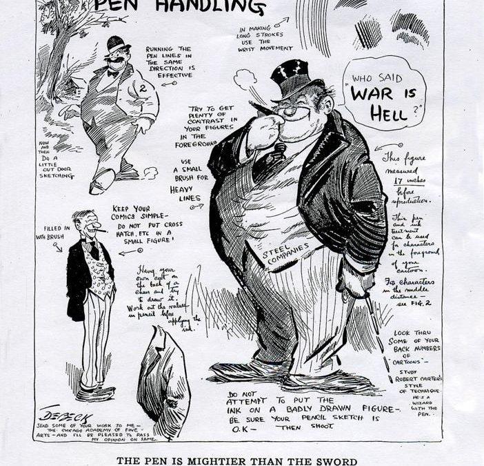Vintage – Hints On Pen Handling