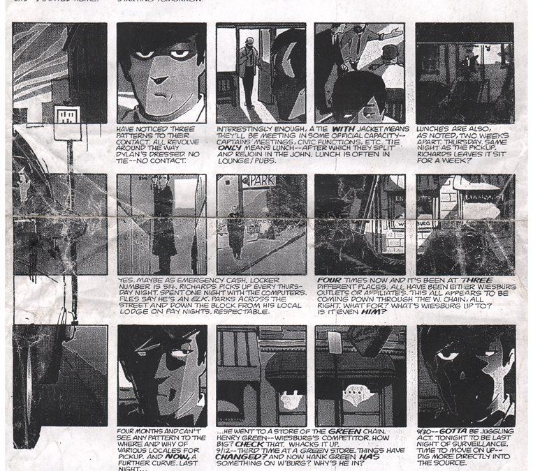 Matt Wagner's 25 Panel Page Layout