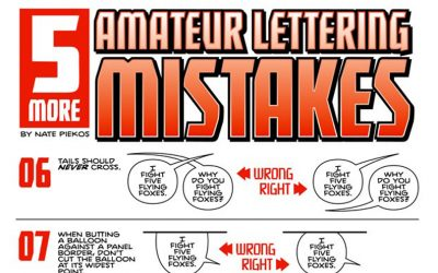Lettering Mistakes