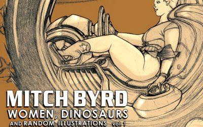 Mitch Byrd Random Illustrations no.1 Sketch Book