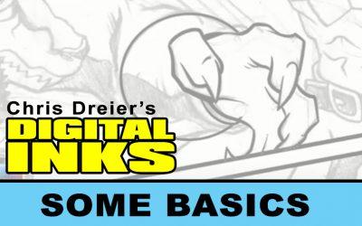 Digital Inks by Chris Dreier – CLIP STUDIO PAINT BASICS
