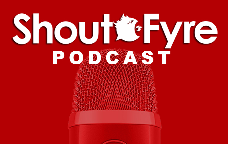 ShoutFyre Podcast 005 Getting Into Comic Shops by Robert W Hickey and Bill Love