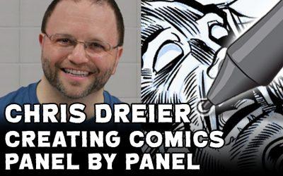 Chris Dreier's Freaks & Gods Page 18 Coloring Part 2