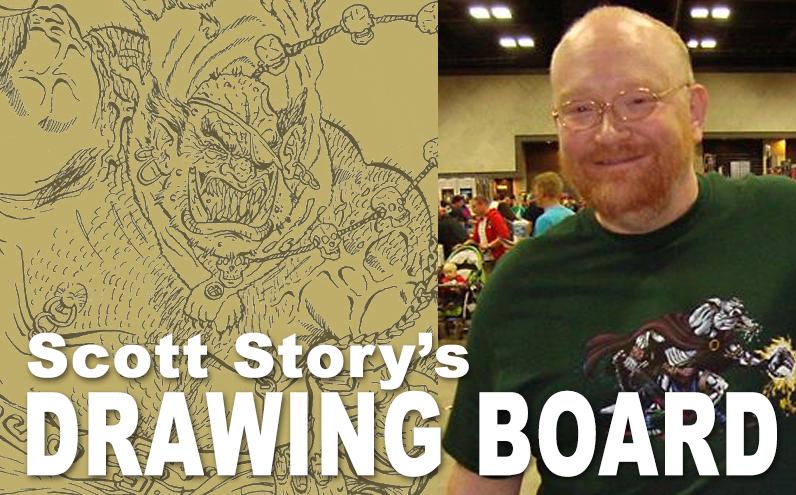 Scott Story's Drawing Board OGRE ALE V