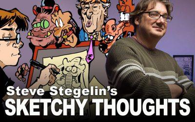 Steve Stegelin's Comics: It's Hard Work If You Can Get It